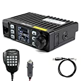 AnyTone AT-779UV GMRS Mobile Radio 20W Dual Band VOX Mini Vehicle Transceiver Long Rang Two Way Radio 51 CTCSS 1024 DCS...