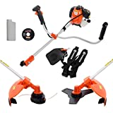 ParkerBrand 52cc Petrol Garden Brush Cutter Grass Trimmer