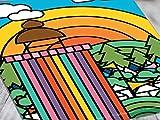 Dibbs Clothing Poster mit Glastonbury Festival Ribbon Tower