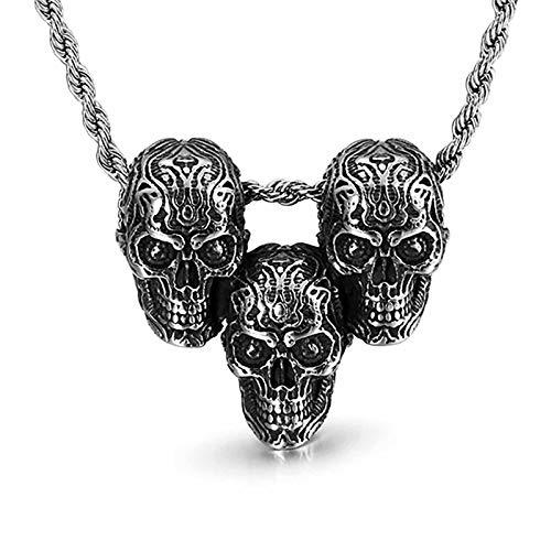 HHW Punk Retro Skull Pendant Fashion Cute Necklace for Men And Women