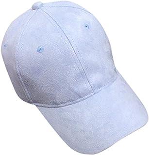 Keepmove Classic Ponytail Baseball Cap Messy High Bun Adjustable Plain Trucker Dad Hat-Breathable Eyelets