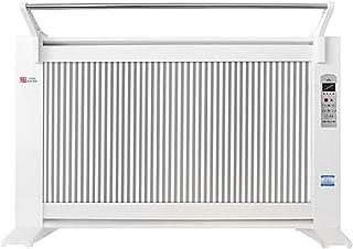 Calentador blanco 1600W / 2000W calentador de cristal de carbono radiador eléctrico hogar calentador montado en la pared con control remoto se puede ajustar calentador de ajuste de 2 velocidades