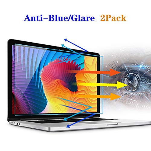 2 Pack Lyaxm 17.3 Inch Anti Blue Light Glare Laptop Screen Protector,Screen Protector for HP Envy 17/Pavilion 17/Dell Inspiron 17.3'/Acer Aspire17.3 Laptop etc,Laptop Accessories Display 16:9
