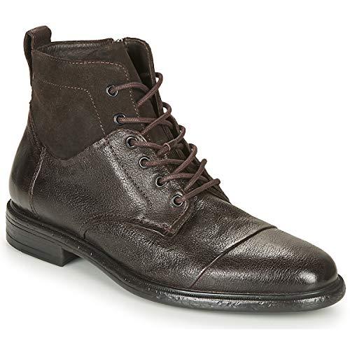 Geox Terence Botines/Low Boots Hombres Negro - 46 - Botas De Caña Baja Shoes
