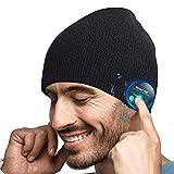 Cappello Bluetooth Idee Regalo Uomo - Cappello Uomo Donna Invernali, Berretto Bluetooth 5....