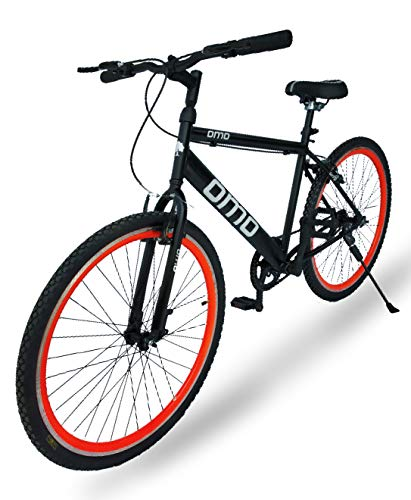 Omobikes Model-1.0 Lightweight  13kg  Fast Light Weight Hybrid Cycle with Alloy Rims, Anti Rust Frame   Orange Rims