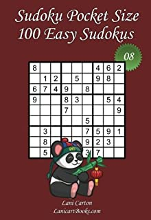 "Sudoku Pocket Size - Easy Level - N°8: 100 Easy Sudoku Puzzles – to take everywhere – Pocket Size (4""x6"") (Volume 8)"