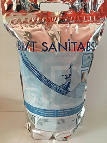 BWT AQA Regeneriersalz mit Hygieneeffekt, Sanitabs, 8kg