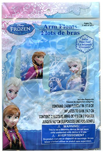 Disney Frozen Elsa and Anna Swimming Pool Inflatable Arm Floats