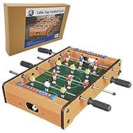 Denny International ® Children Tabletop Desktop Football Foosball Mini Soccer Table Game Family Fun ...