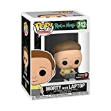 Funko Pop! Rick and Morty Exclusive Morty with Laptop Vinyl Figure...