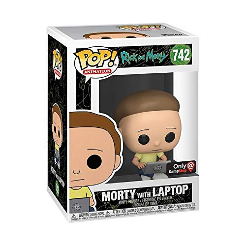 Funko Pop! Rick and Morty Exclusive Morty with Laptop Vinyl Figure