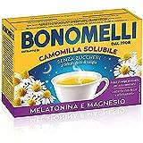 Bonomelli, Camomilla Solubile con Melatonina e Magnesio, Contrasta Stanchezza e Affaticamento,...