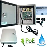 Urban Security Group 5 Port Outdoor PoE Network Switch : Full Gigabit 1,000Mbps : IP66 Weatherproof : (4) Power Over Ethernet IEEE802.3af + (1) Uplink RJ45 Ports : 65W : Business Grade