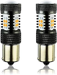 JDM ASTAR 3030 Chips High Power 7507 BAU15S Amber LED Bulbs with Projector