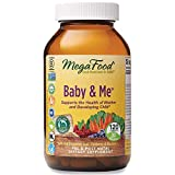 MegaFood, Baby & Me, Prenatal and Postnatal Vitamin with Folic Acid, Iron, Herbs, Non-GMO, 120 Tablets (30 Day Supply) (FFP)