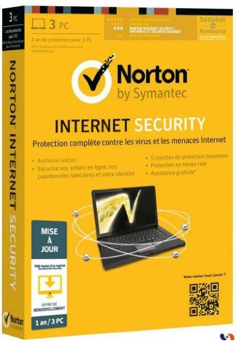 Norton internet security 2013 (3 postes, 1 an) - mise a jour