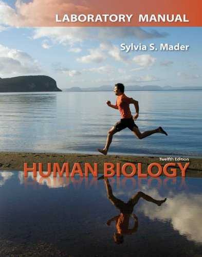 Lab Manual for Human Biology