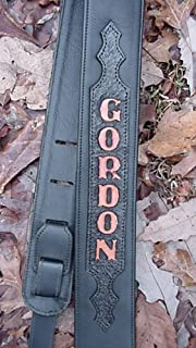 Best custom leather guitar strap with name Reviews