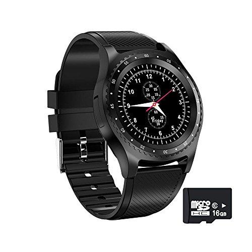 G8 V9 Nuevos relojes inteligentes con cámara Bluetooth reloj deportivo monitor de fitness soporte tarjeta SIM reloj inteligente para iPhone Xiaomi Huawei (rojo/con caja retial)