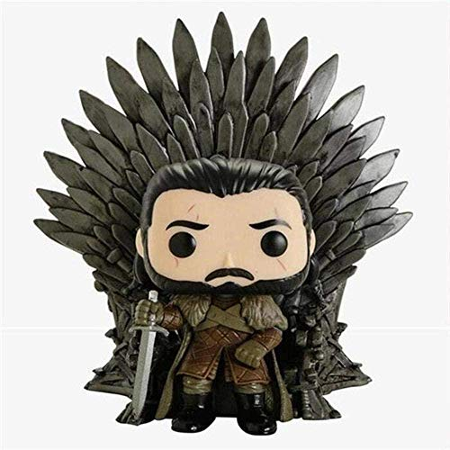 Brandless Anime Toys Funko Game of Thrones Snow Snow Throne Edition Doll En Caja Altura del Producto: 16 cm Regalo de decoración de Personaje Modelo