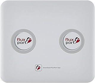 Fluxport FP-A-009 İkili 20000 mAh Taşınabilir Kablosuz Şarj Platformu Beyaz