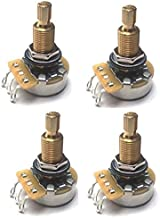 CTS TAOT CUSTOM 525K LONG Shaft Potentiometers - 5% Tolerance (All Pots Meter 500K-550K) - Set of 4 (4X)