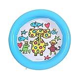 XIEJING Piscina Hinchable Piscina Inflable para bebés Juguetes para niños Tina de la Piscina Piscina Piscina de Arena Piscina de la Bola de mar Piscina al Aire Libre Piscina