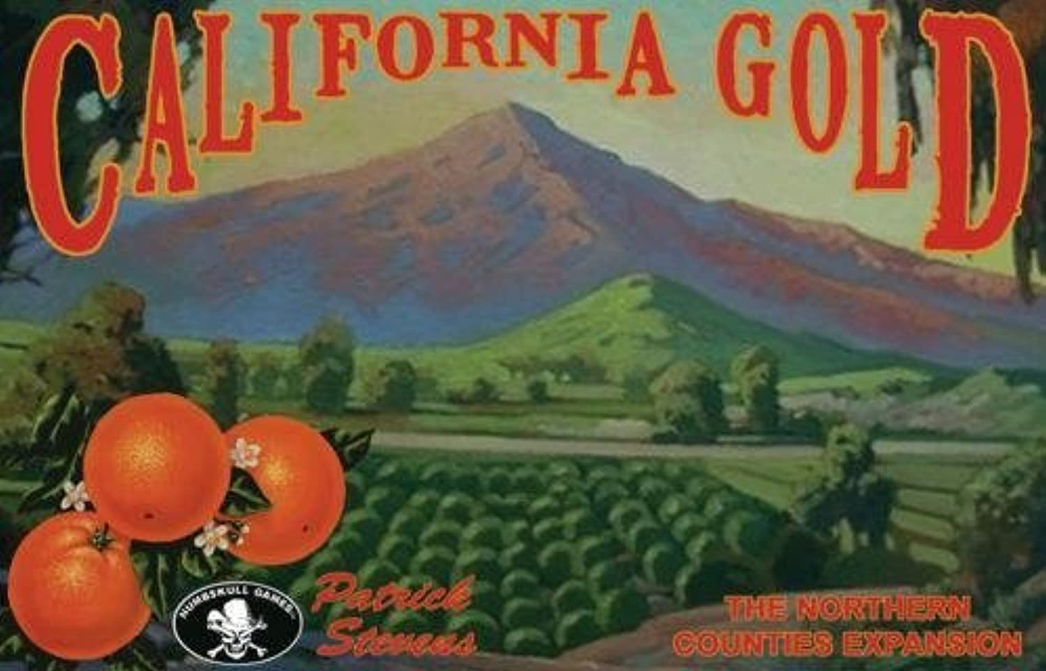 California gold  The Northern Counties Expansion by Numbskull Games