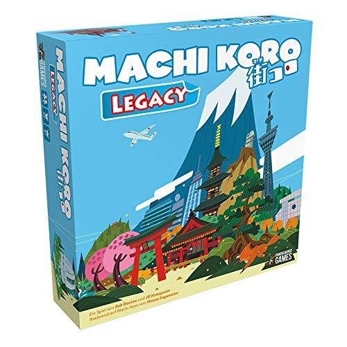 Pandasaurus Games ASMD0049 Machi Koro Legacy, Mehrfarbig, Bunt