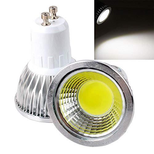 Glühbirne 9W 12W 15W LED-Lampe Licht Gu10 Gu5.3 Mr16 Cob Dimmbares Gu 10 LED-Scheinwerfer Warm/Kaltweiß Rot Blau Grün, Gu10 220V, Kaltweiß