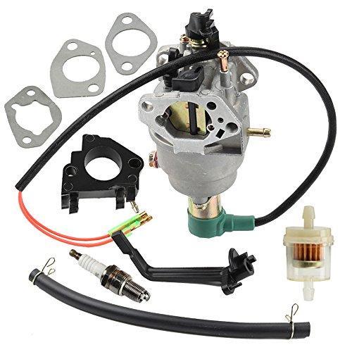Panari Carburetor + Insulator for 40023 40030 41135 41152 41154 41302 41311 41331 41332 41351 49011 49056 C41155 C49055 CSA40036 CSA41155 CSA41155E ETL7007 Generator
