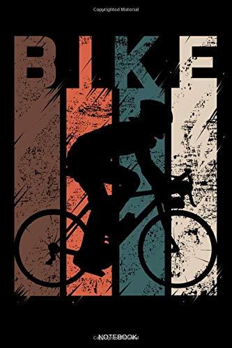 Bike Notebook: Detaillierter Fahrradtour- und Urlaubsplaner Vintage für Radfahrer Geschenk Reisetagebuch für den Fahrradausflug Tagebuch Urlaub ... Memo Notizen I Größe 6 x 9 I 120 Seiten