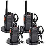 Nestling USB Rechargeable Long Range Two Way Radio Walkie Talkies Walky Talky 16CH Single Band LED Light Voice...