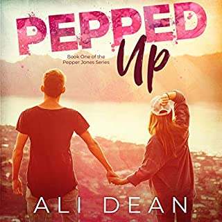 Pepped Up audiobook cover art