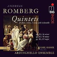 Romberg: Flute Quintets Vol 1