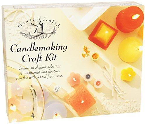 House of Crafts - Kit de fabricación de Velas
