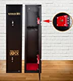 Ultimate Safe® 5 Gun Cabinet for Shotguns and Rifles with Lockable Internal Ammunition
