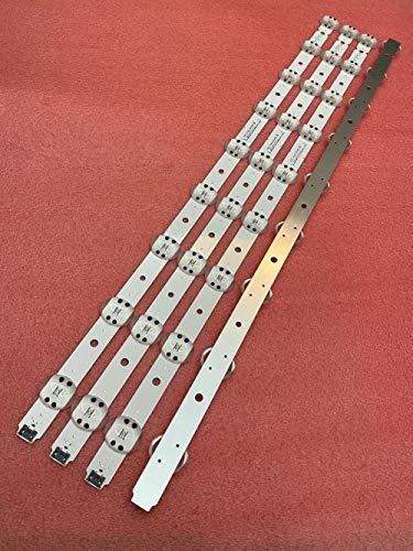 Miwaimao 20pcs/Lot 9LED LED Backlight Strip for LG 65UK6300 65UK6400 65UK6470PLC 65UK6300PUE Trident SSC_65UK63_9LED_SVL650A95 SVL650A75