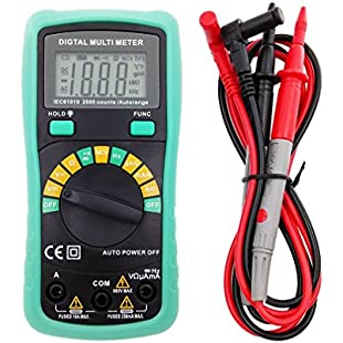 ONEVER 8233D Digital Multimeter Capacitance Frequency Meter Electrical LCD Display