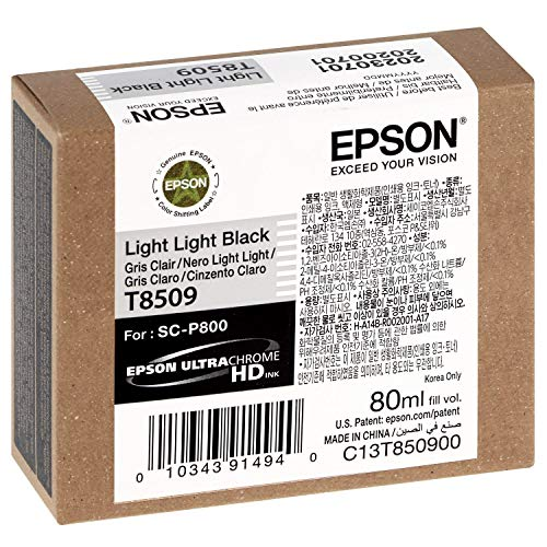 TINTA EPSON SC-P800 NEGRO LIGHT LIGHT