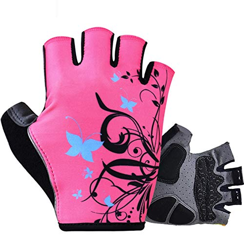 Gants Cyclisme XYBB Femmes Shockproof Cycling Gloves Fitness Femme Sport Bike Gloves Motos Outdoor Mountain Road S Image comme 1
