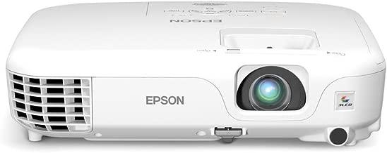 Epson PowerLite Home Cinema 500 Silver Edition SVGA 2600 Lumens HDMI Projector (White)