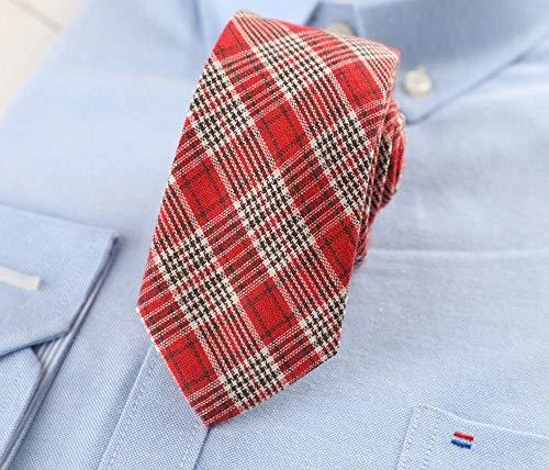 smilecstar Krawatte Herren Hochzeit Konfirmation Slim Tie Retro Business Schlips schmal 145 * 6cm 10