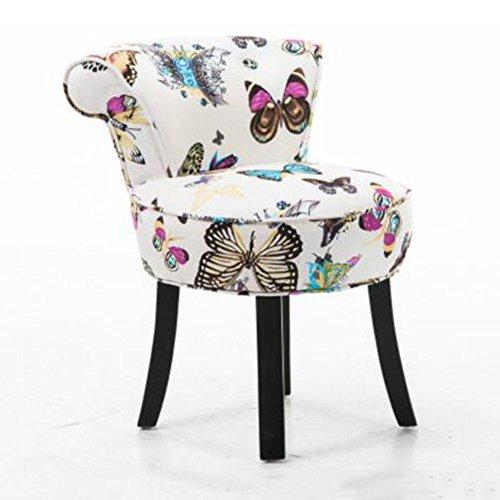 Hocker ZHANGRONG- Hirtenschminke Rückenlehnen-Ankleidehocker Nagel für Schuhputzer Sofa Casual runden Sofa (Farbe wahlweise freigestellt) -Sofa (Farbe : #16)