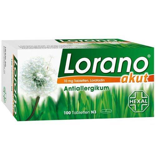 Lorano® akut 10 mg Tabletten, 100 Tabletten by Lorano