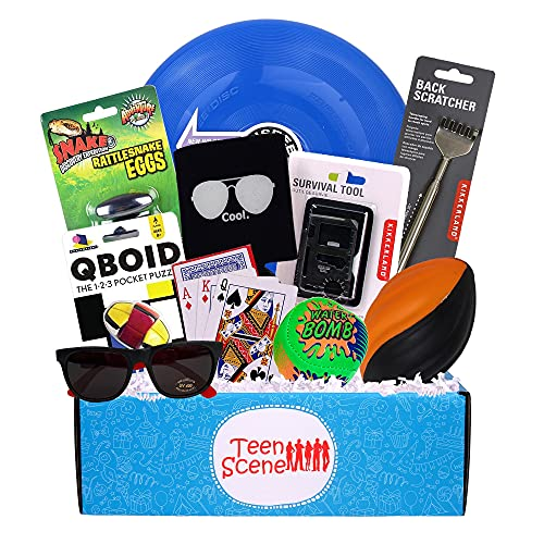Teen Boy's Summer Camp Care Package or Birthday Gift