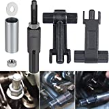 For GM Duramax 6.6L Engine 2001~2011 Injector Repair Tool Kit Included Injector Puller & Injector Tube/Cup/Sleeve/Nozzle Remover/Installer Tool Replace J-44639 J-46594 J45910