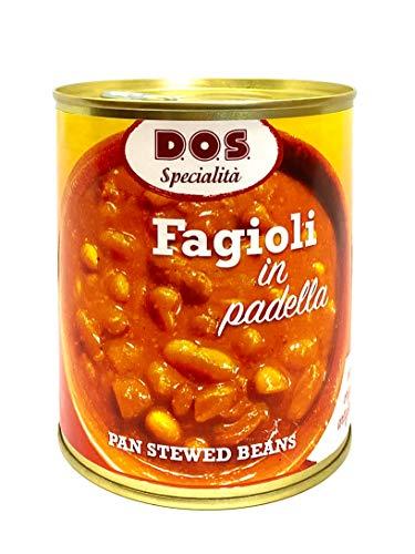 Fagioli in padella 800g - Prodotto Artigianale dell'Umbria - Formato Famiglia - Pronti al consumo