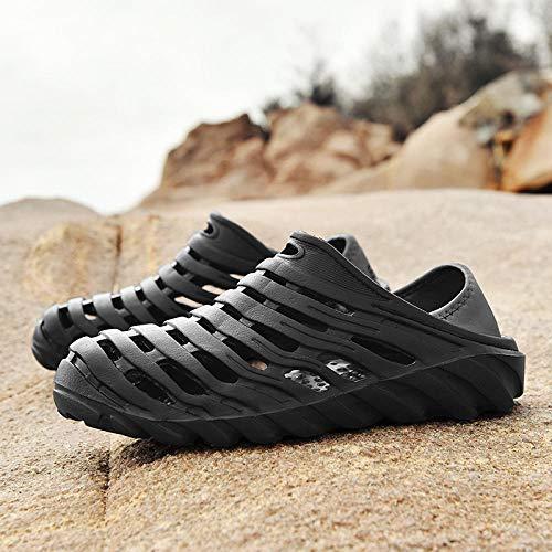 Sandalias de Playa,Zapato de jardín,Sandalias huecas para hombres de verano,zuecos de viaje,zapatillas...